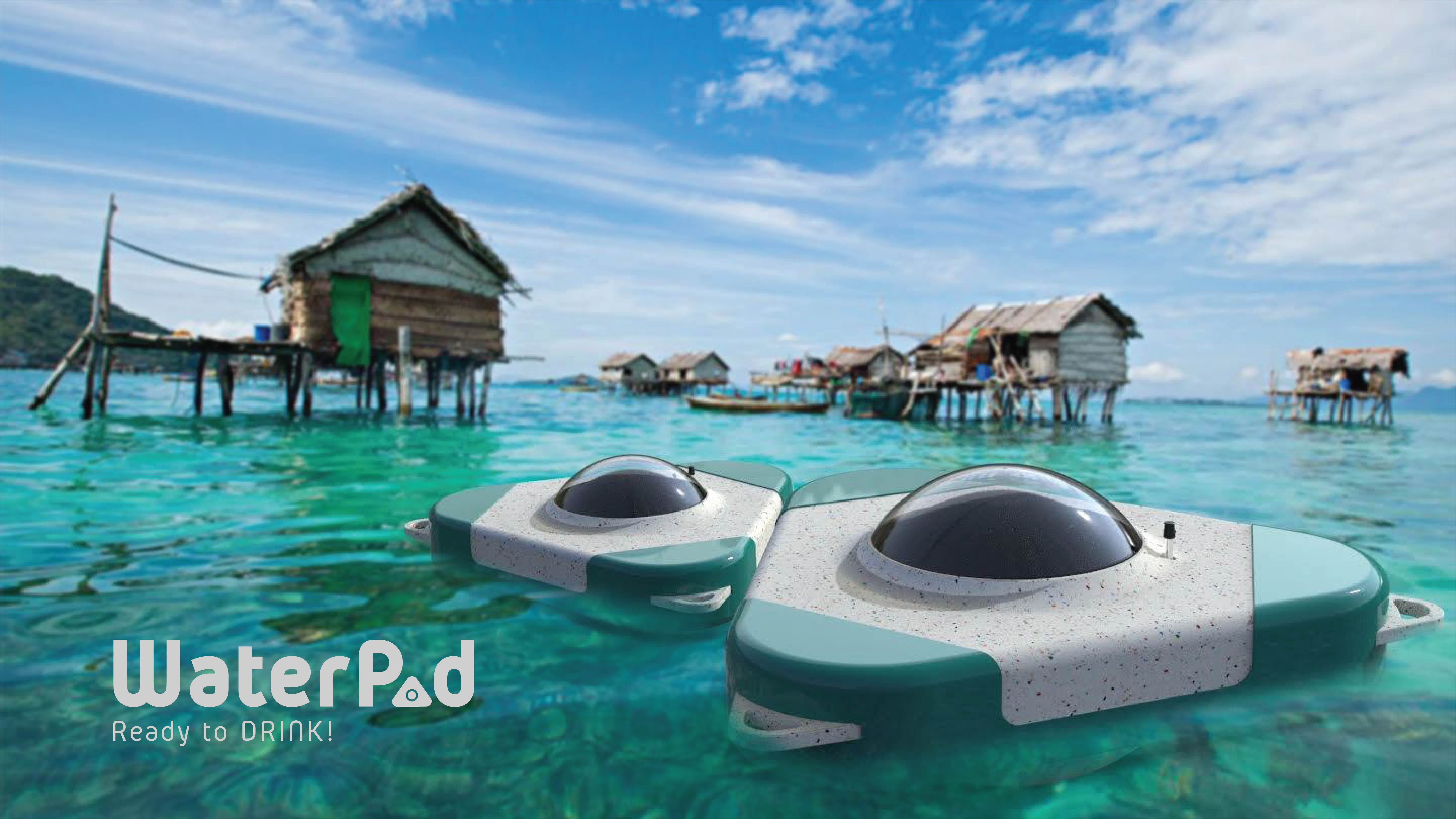An image with a caption of: Product showcase in the sea nomads community deniz-suyu-icme-suyuna-cevrilebilir-mi